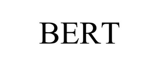 mark for BERT, trademark #87931880