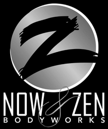 mark for NOW & ZEN BODYWORKS, trademark #87932087