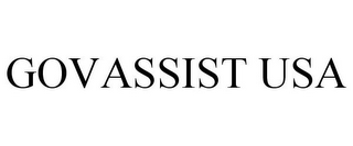 mark for GOVASSIST USA, trademark #87932098