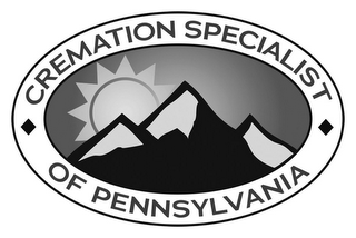 mark for CREMATION SPECIALIST OF PENNSYLVANIA, trademark #87932117