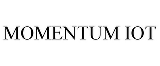 mark for MOMENTUM IOT, trademark #87932271
