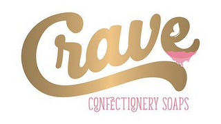 mark for CRAVE CONFECTIONERY SOAPS, trademark #87932281