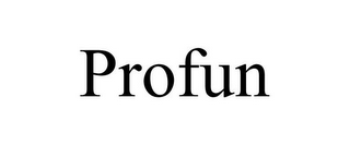 mark for PROFUN, trademark #87932296