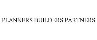 mark for PLANNERS BUILDERS PARTNERS, trademark #87932367