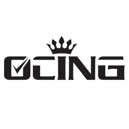mark for OCING, trademark #87932416