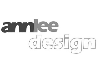 mark for ANNLEE DESIGN, trademark #87932437