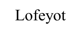mark for LOFEYOT, trademark #87932465