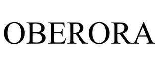 mark for OBERORA, trademark #87932501