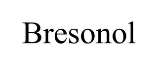 mark for BRESONOL, trademark #87932512