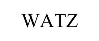 mark for WATZ, trademark #87937080