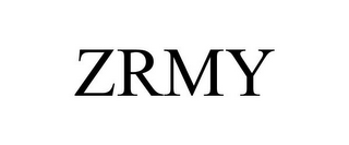 mark for ZRMY, trademark #87937491