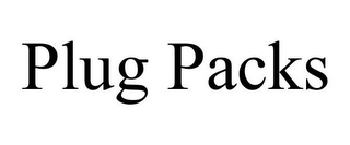 mark for PLUG PACKS, trademark #87937585