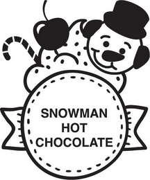 mark for SNOWMAN HOT CHOCOLATE, trademark #87937668