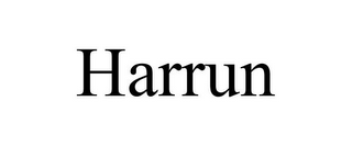 mark for HARRUN, trademark #87937677