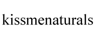 mark for KISSMENATURALS, trademark #87937737