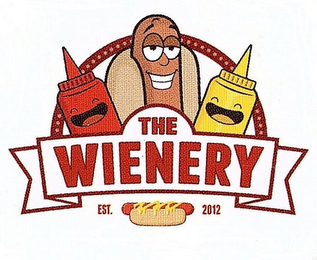 mark for THE WIENERY EST. 2012, trademark #87937791