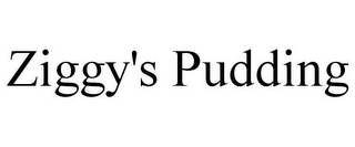 mark for ZIGGY'S PUDDING, trademark #87937827