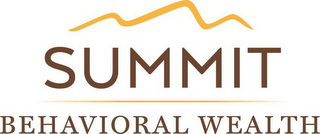 mark for SUMMIT BEHAVIORAL WEALTH, trademark #87937854