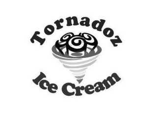 mark for TORNADOZ ICE CREAM, trademark #87937901
