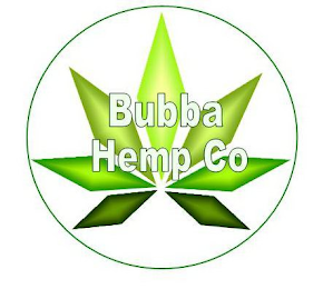 mark for BUBBA HEMP CO, trademark #87937923