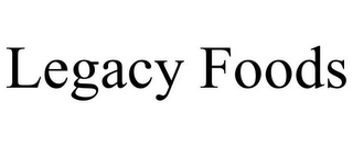mark for LEGACY FOODS, trademark #87937933