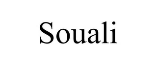 mark for SOUALI, trademark #87937986