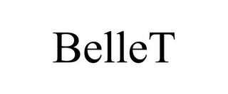 mark for BELLET, trademark #87938638