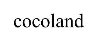 mark for COCOLAND, trademark #87938691