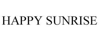 mark for HAPPY SUNRISE, trademark #87938801