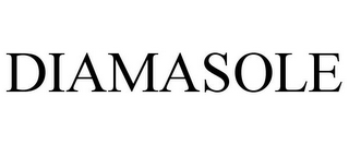 mark for DIAMASOLE, trademark #87938840