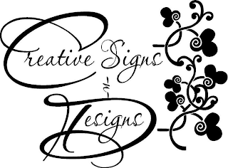 mark for CREATIVE SIGNS N DESIGNS, trademark #87938910