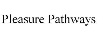 mark for PLEASURE PATHWAYS, trademark #87938914