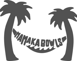 mark for MAMAKA BOWLS, trademark #87938929