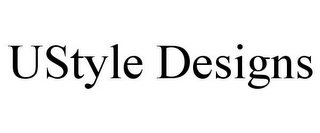 mark for USTYLE DESIGNS, trademark #87938935