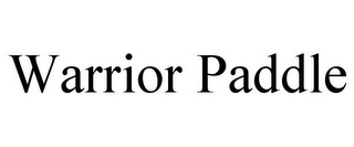 mark for WARRIOR PADDLE, trademark #87938957