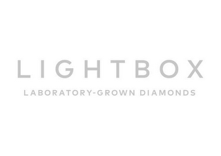 mark for LIGHTBOX LABORATORY-GROWN DIAMONDS, trademark #87939083
