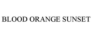 mark for BLOOD ORANGE SUNSET, trademark #87946545
