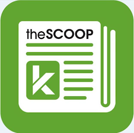 mark for THESCOOP K, trademark #87948517