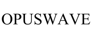 mark for OPUSWAVE, trademark #87956938