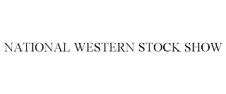 mark for NATIONAL WESTERN STOCK SHOW, trademark #88004946