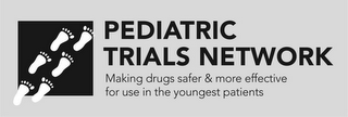 mark for PEDIATRIC TRIALS NETWORK MAKING DRUGS SAFER & MORE EFFECTIVE FOR USE IN THE YOUNGEST PATIENTS, trademark #88006247