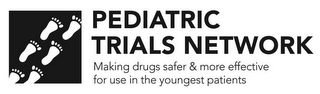 mark for PEDIATRIC TRIALS NETWORK MAKING DRUGS SAFER & MORE EFFECTIVE FOR USE IN THE YOUNGEST PATIENTS, trademark #88006253