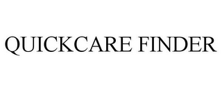mark for QUICKCARE FINDER, trademark #88013017
