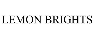 mark for LEMON BRIGHTS, trademark #88024189