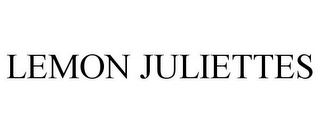 mark for LEMON JULIETTES, trademark #88024417