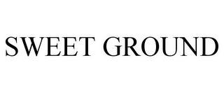 mark for SWEET GROUND, trademark #88033179