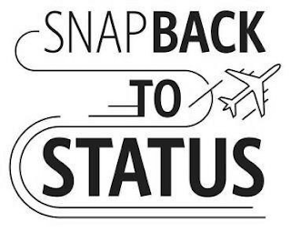 mark for SNAP BACK TO STATUS, trademark #88039012