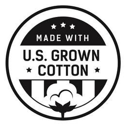 mark for MADE WITH U.S. GROWN COTTON, trademark #88062431