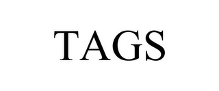mark for TAGS, trademark #88077445