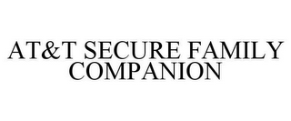 mark for AT&T SECURE FAMILY COMPANION, trademark #88085269